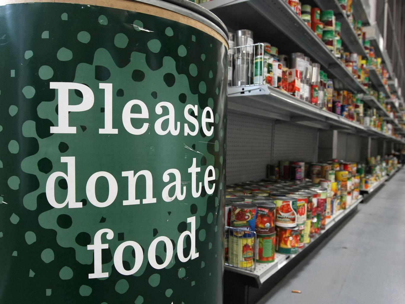492, 600 people were given three days worth of food by the Trussell Trust food banks between April and September this year