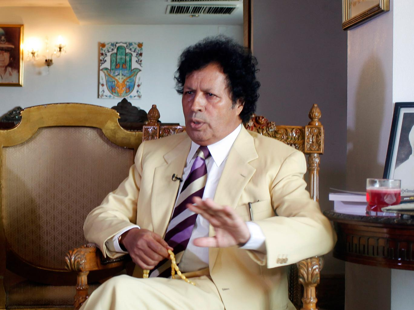 Ahmed Gaddafi al-Dam was one of his cousin&;s most trusted security officers