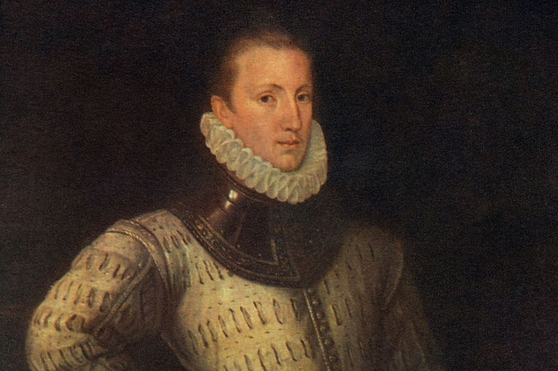 Philip Sidney, author of Arcadia and a likely piracy victim.
