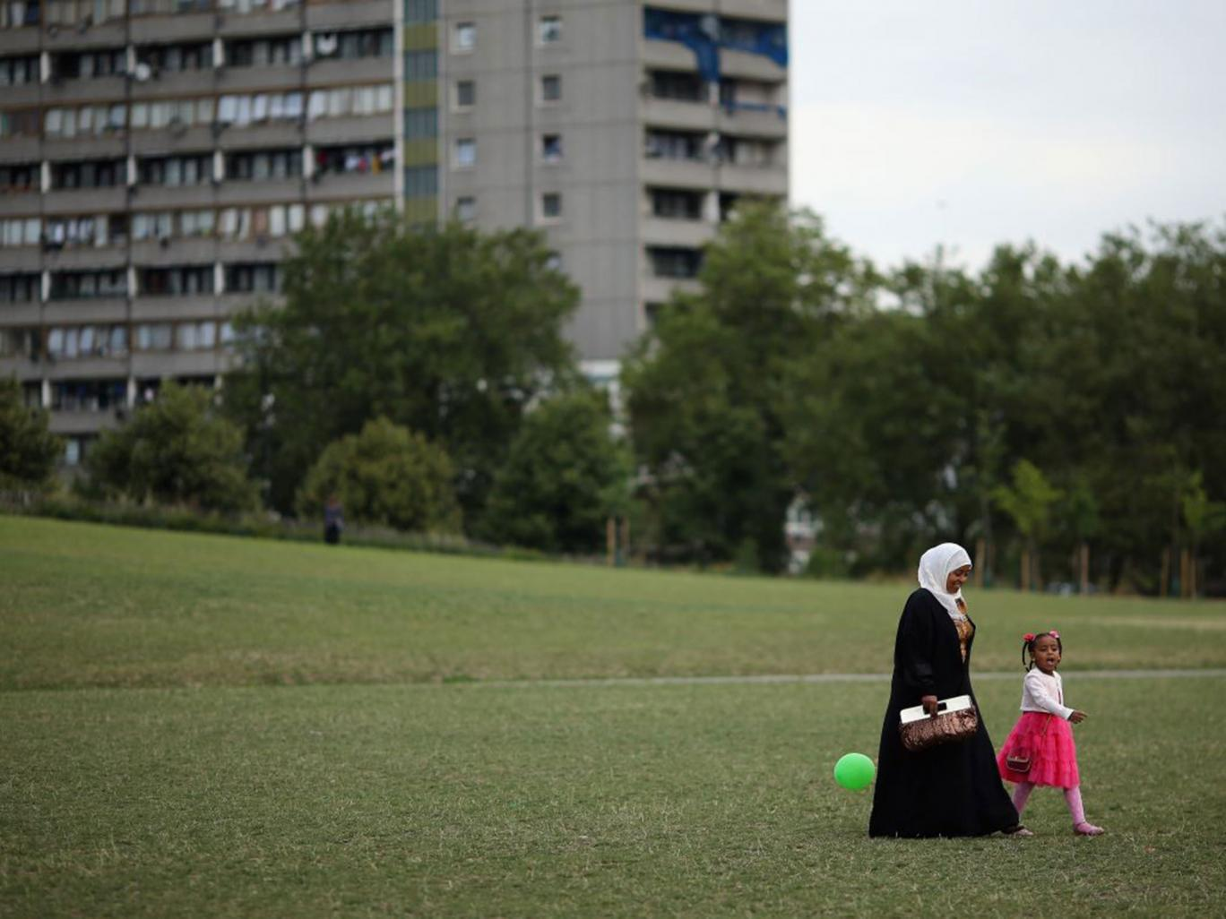 Muslim women are up to 65 per cent less likely to be employed than white Christian counterparts