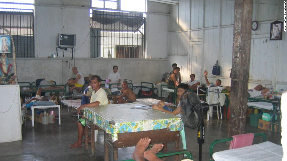 """The Philippines government is trying to modernize the country&;s prisons and plans to build a new maximum security facility to ease congestion. Here, inmate medical """"trustees"""" take care of sick and mentally ill inmates in the prison hospital."""