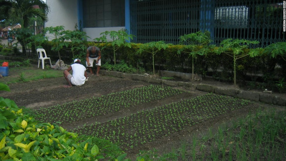 Backyard gardening is another example of how inmates are taking control of available resources to meet their needs. Narag says inmates develop free space into gardens to supplement their food intake.