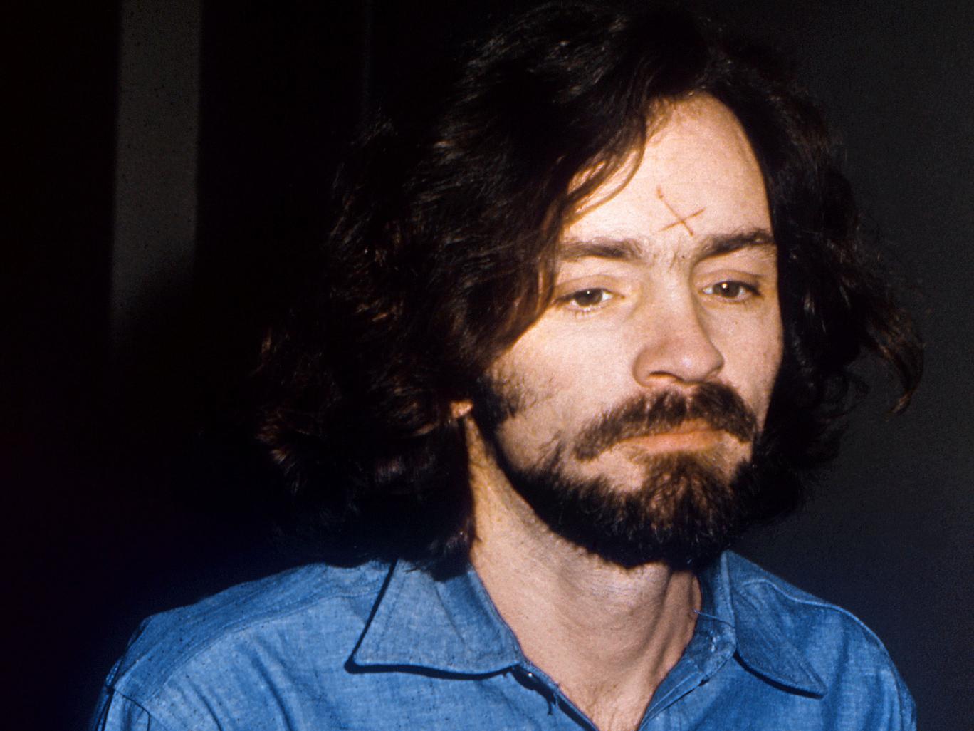 Murderer Charles Manson in 1970
