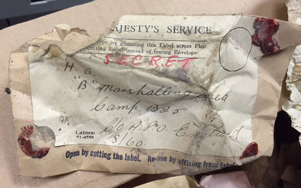 Secret documents relating to the D-Day landings have been found under the floorboards at the Balmer Lawn Hotel