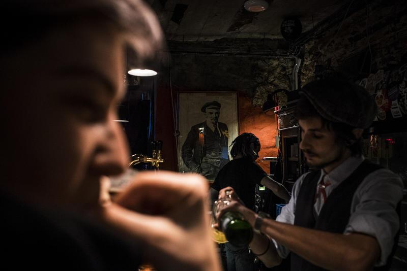 Андеграундный бар «Контрабанда» во Владивостоке