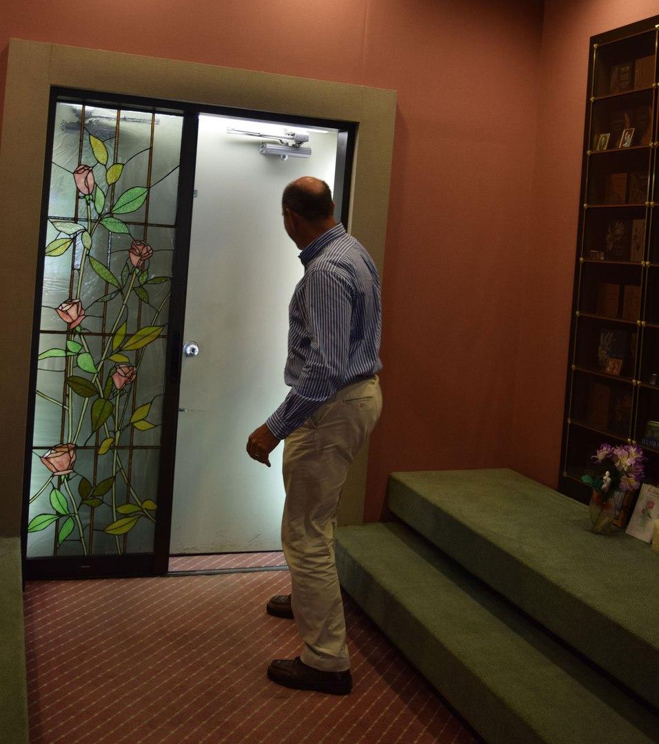 Двери Розовой комнаты. GETTY IMAGES/CAREN CHESLER