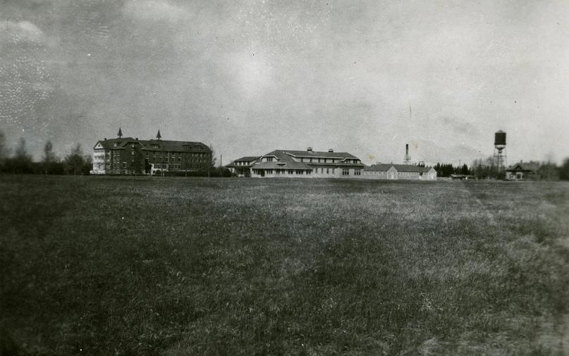 Провинциальная школа-пансион для «умственно неполноценных» людей в Альберте была открыта в октябре 1923 года. Фото: The Eugenics Archives